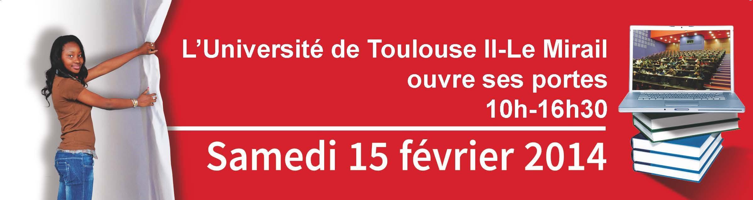 Portes Ouvertes à l'Université de Toulouse II-Le Mirail